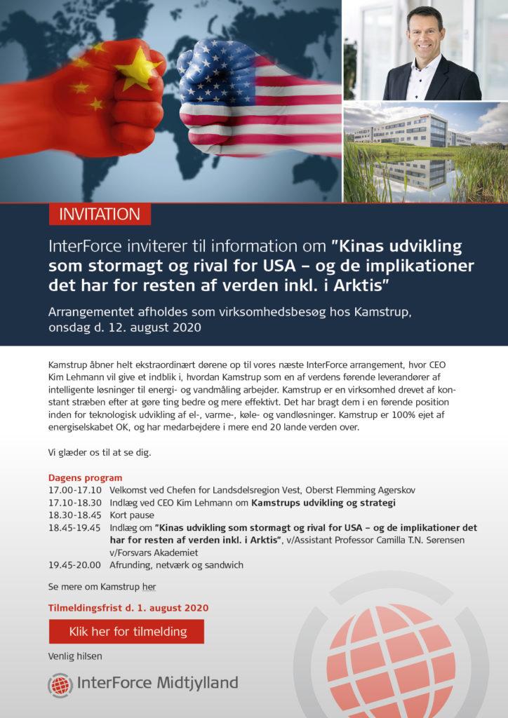 Invitation til InterForce
